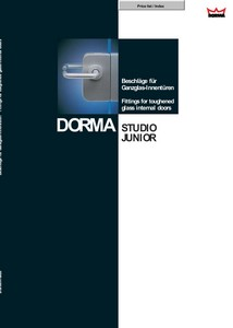 Katalog Dorma Studio Junior