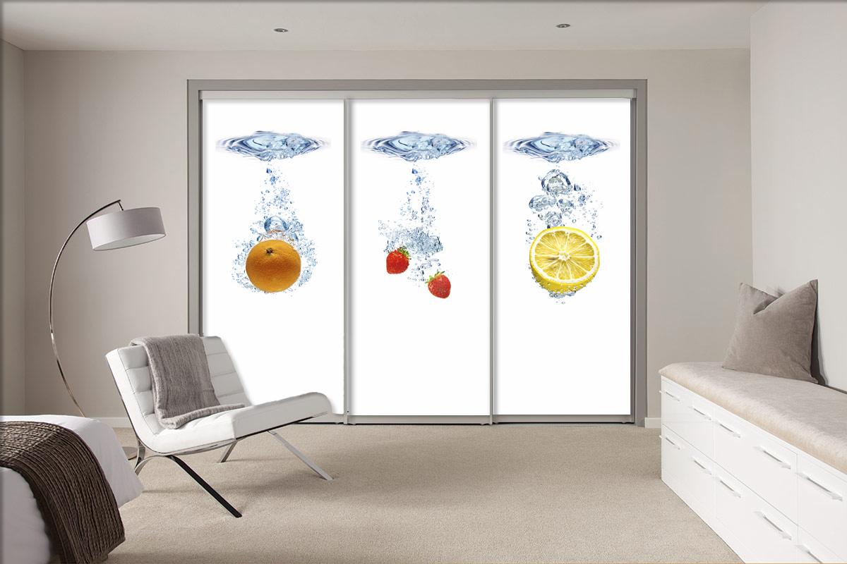 Groovy Drzwi do szaf - Lustra, Drzwi i Ściany Szklane, Balustrady, Fronty QI73