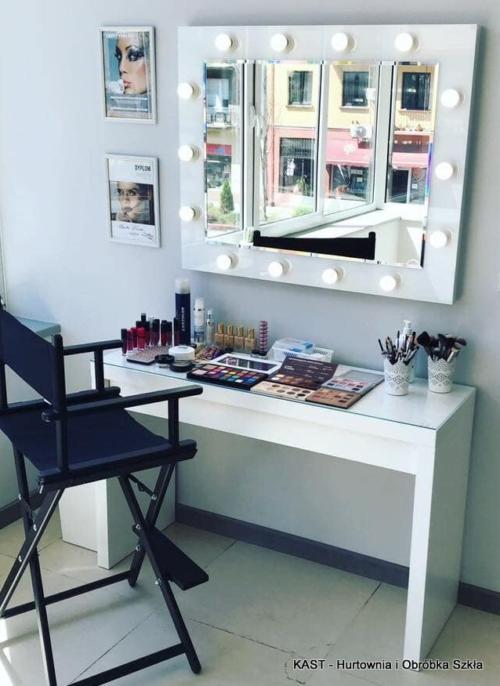 lustro do makijażu