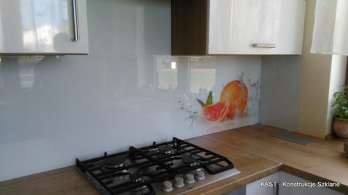 Szkło W Kuchni Lustra Drzwi I ściany Szklane Balustrady